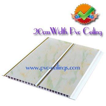 20cm width pvc ceiling