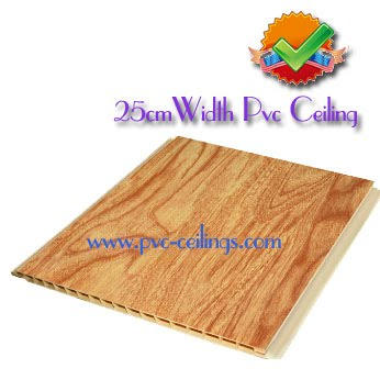 25cm width pvc ceiling