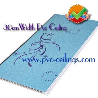 30cm width pvc ceiling