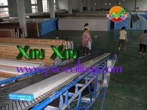 pvc ceiling factory