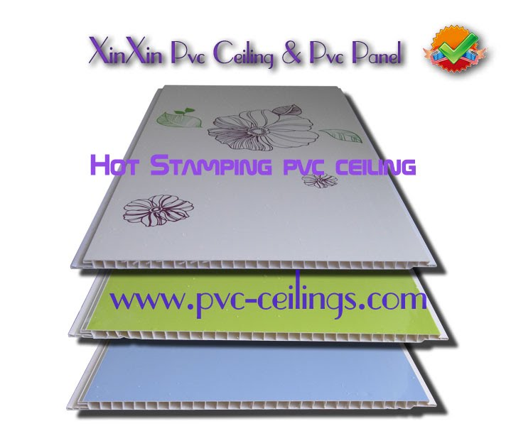 hot stamping pvc ceiling